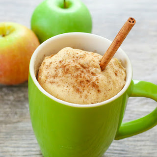 Skinny Apple Spice Mug cake