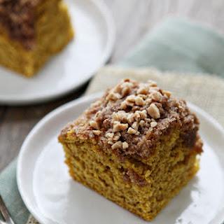 Pumpkin Coffee Cake with Toffee Streusal Recipe