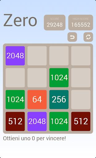 Zero Puzzle 2048 - 2048 = 0