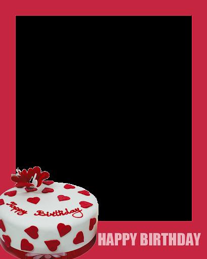 Birthday Cake Photo Frames Online Free