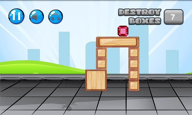 Destroy boxes - screenshot