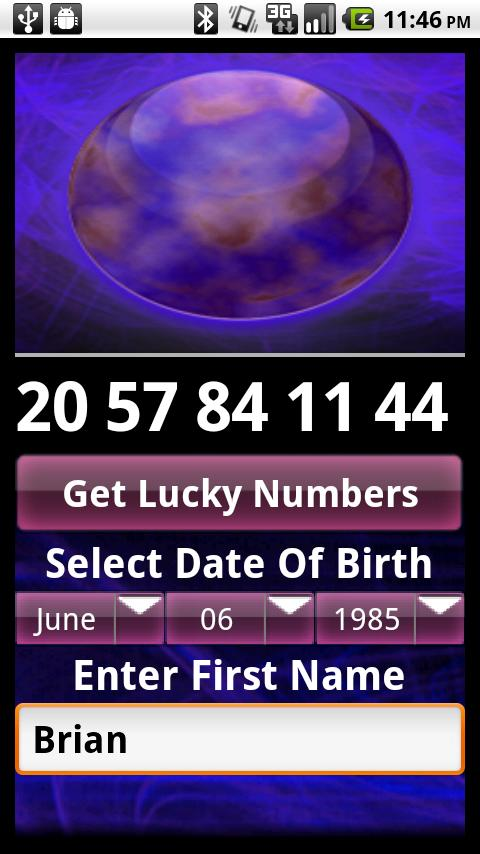 Lucky Numbers Fortune Lotto - screenshot