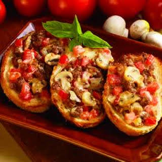 Italian-Topped Garlic Bread.