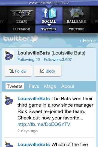 Louisville Bats - screenshot