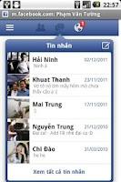 Screenshot of Proxy browser for Facebook wap