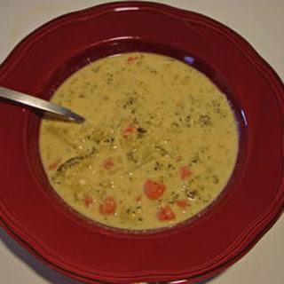 Cream of Broccoli Cheese Soup II.