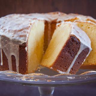 Seville Orange & Noyaux Semolina Pound Cake.