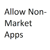 Allow Non Market Apps