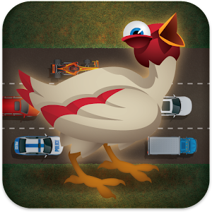 Chicken In Traffic Icon