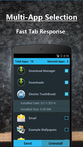APK Share Bluetooth App Send