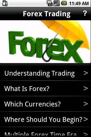 Forex trading android app