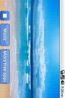 Screenshot of Piano with ocean waves