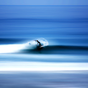 Surf by Sergio Martins - Digital Art People ( free, moche, billabong, costa da caparica, surf, portugal )