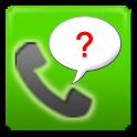 Unknown Call Info. icon