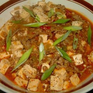 Mijn variatie op Ma Po Tofu