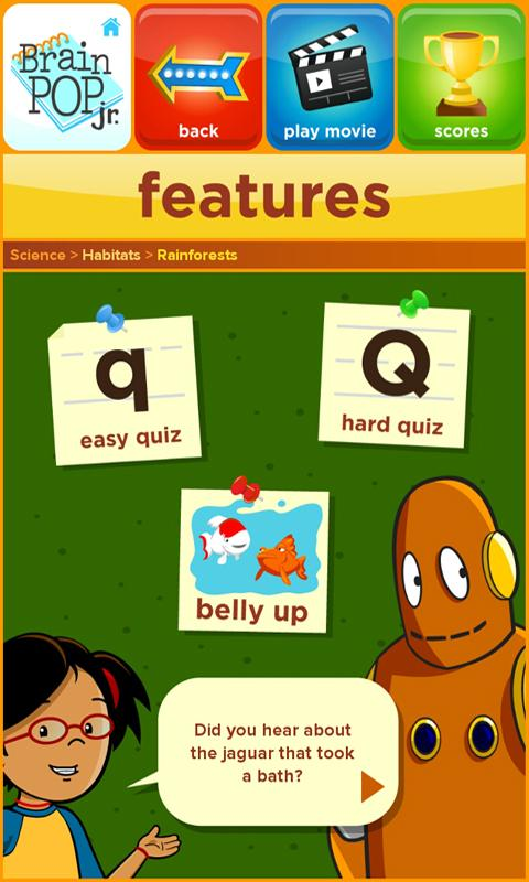 BrainPOP Jr. Movie of the Week- screenshot