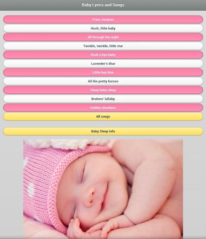 Baby Lyrics & Songs APK Latest Version Download - Free Music ...
