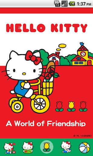 Hello Kitty Go Market Theme