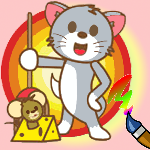 Coloring Game : Tom and Jerry