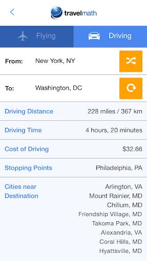 Travelmath - trip calculator