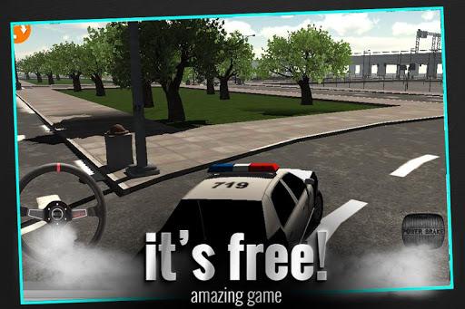警車3D模擬器