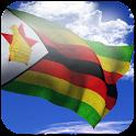 3D Zimbabwe Flag + icon