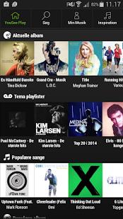 YouSee Play Musik - screenshot thumbnail