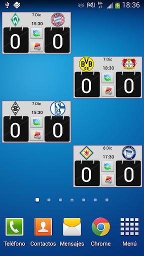 Widget Bundesliga PRO 2015 16