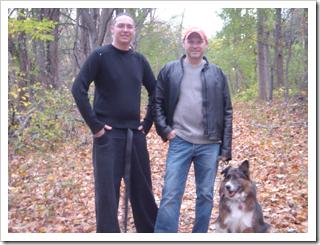 Evan, Donavon, Merle (L-R)