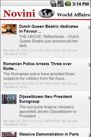 Novini World Affairs