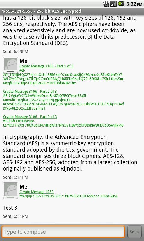 Crypto Mms BETA - screenshot
