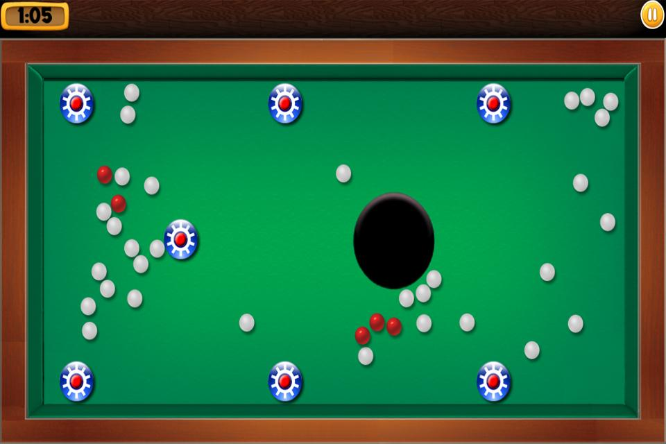 Balls and Holes Roll the balls- screenshot