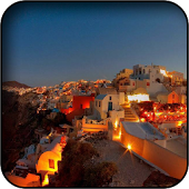 Greece At Night Wallpapers