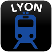Lyon Metro & Tramway & Trolley Free Map 2018