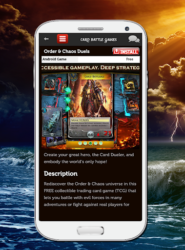 玩動作App Card Battle Games免費 APP試玩