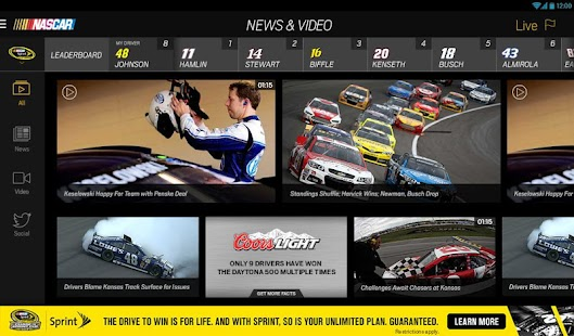 NASCAR MOBILE Screenshot 20