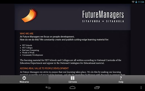 Future Managers- screenshot thumbnail