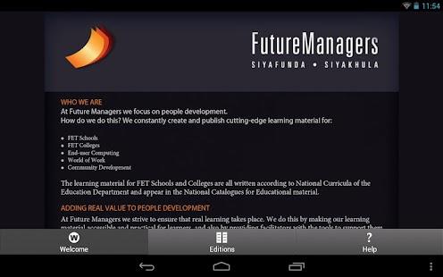 Future Managers- screenshot thumbnail