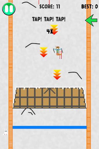 Pixel Skier