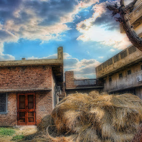 Grandma's House by Mohammed Omer - Buildings & Architecture Homes ( pakistan, punjab, village, sialkot, house,  )