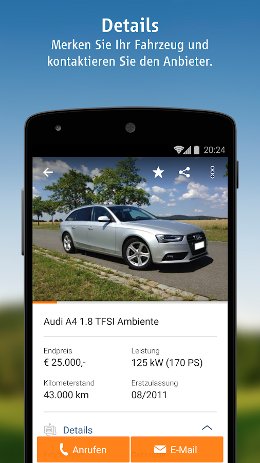 autoscout24 mobile auto suche android apps auf google play. Black Bedroom Furniture Sets. Home Design Ideas