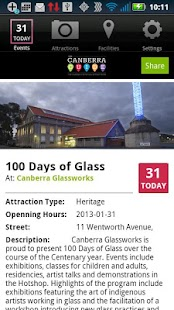 The Canberra Guide- screenshot thumbnail