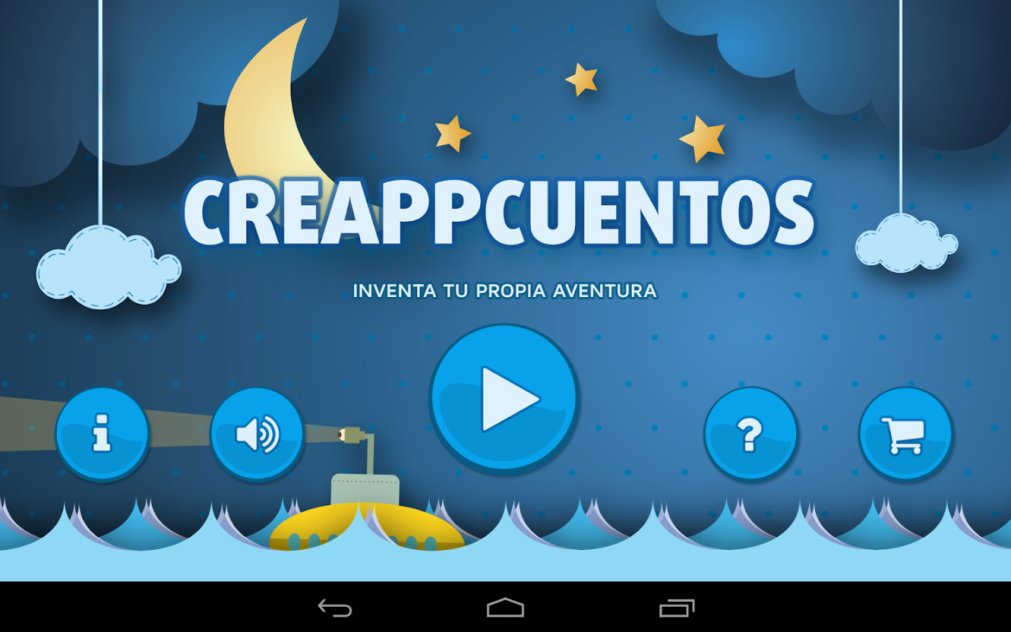 Recomendaciones APPs para niños: CreaAppCuentos