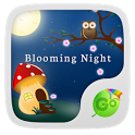 Blooming Night Keyboard Theme icon