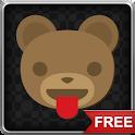 Cartoon Bear Fun LWP icon