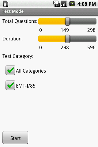 NREMT EMT I-85 Exam Prep - screenshot