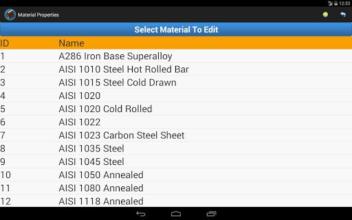免費下載工具APP Material Properties app開箱文 APP開箱王