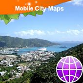 Tortola Street Map