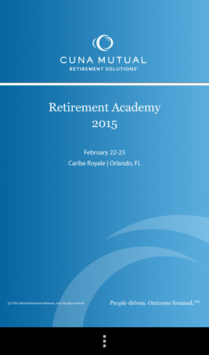 Retirement Academy 2015