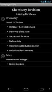 Revision Chemistry- screenshot thumbnail
